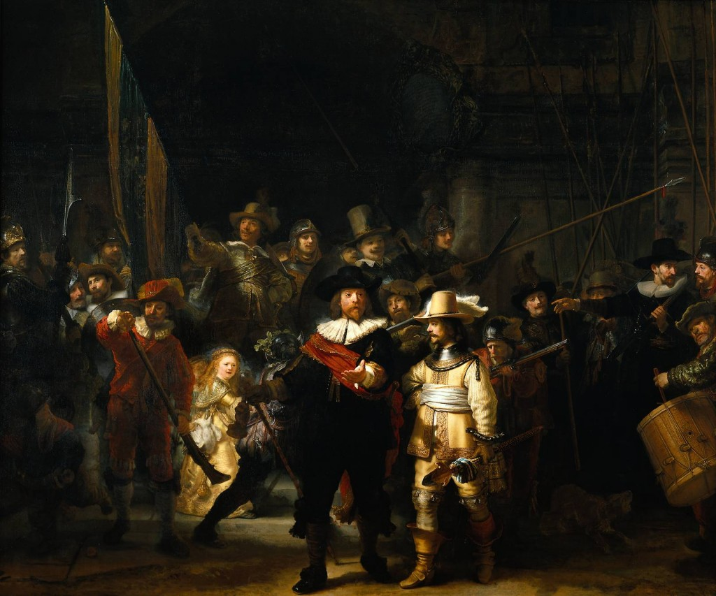 The Night Watch, Rembrandt, 1642