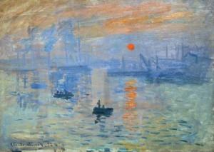 Impression, Sunrise, Monet, 1872–1873