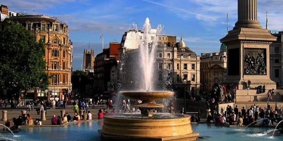 Trafalger Square by UG Ardener (Creative Commons)