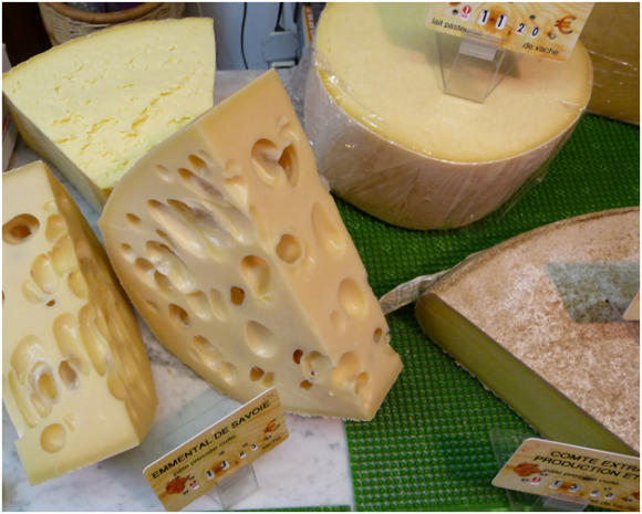 French cheese ( creative commons)
