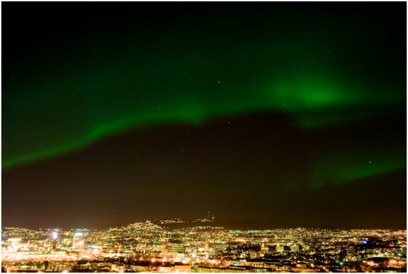 Aurora Borealis in Oslo ( creative commons)